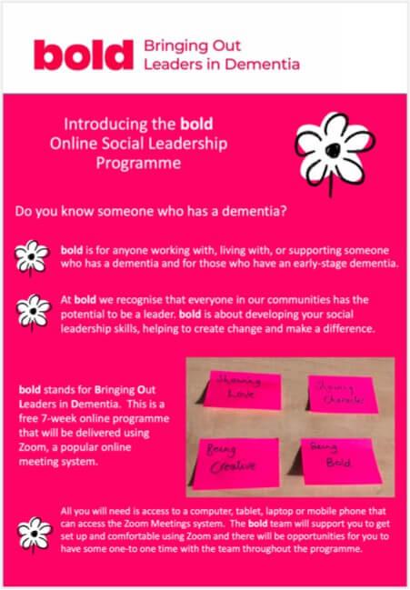 bold Online Social Leadership Programme